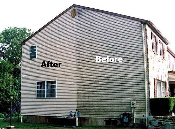 power-wash-house